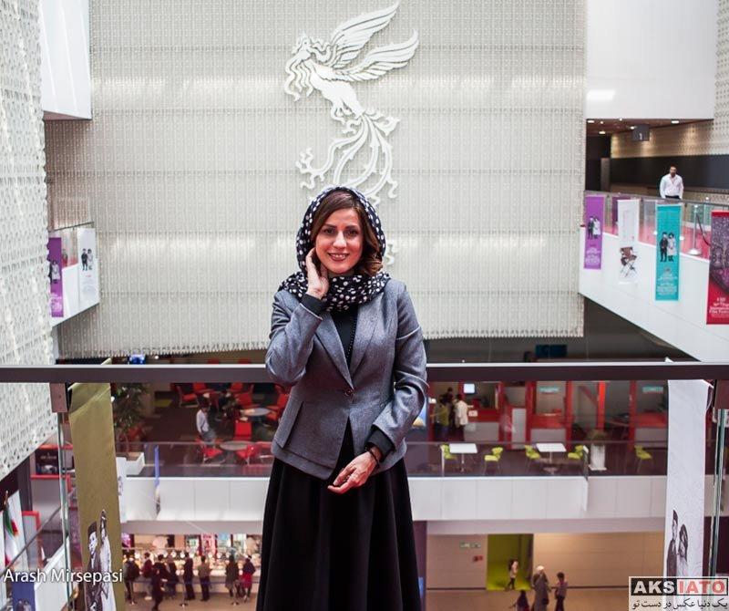 بازیگران جشنواره جهانی فیلم فجر  سارا بهرامی در سی و ششمین جشنواره جهانی فیلم فجر (4 عکس)