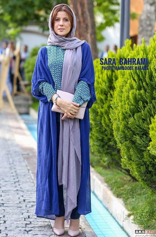 بازیگران بازیگران زن ایرانی  سارا بهرامی در مراسم افتتاح رویداد فرهنگی ایران و روسیه (5 عکس)
