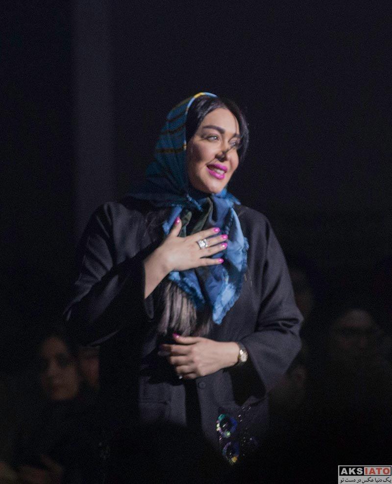 بازیگران بازیگران زن ایرانی  سارا منجزی در کنسرت مسیح و آرش عدل پرور (4 عکس)