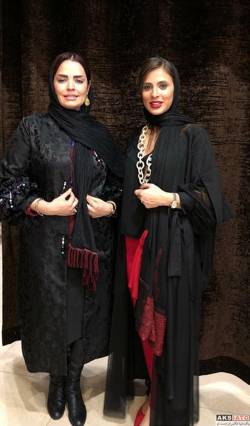 بازیگران بازیگران زن ایرانی  سپیده خداوردی در سالن زیبایی آنوشا (3 عکس)