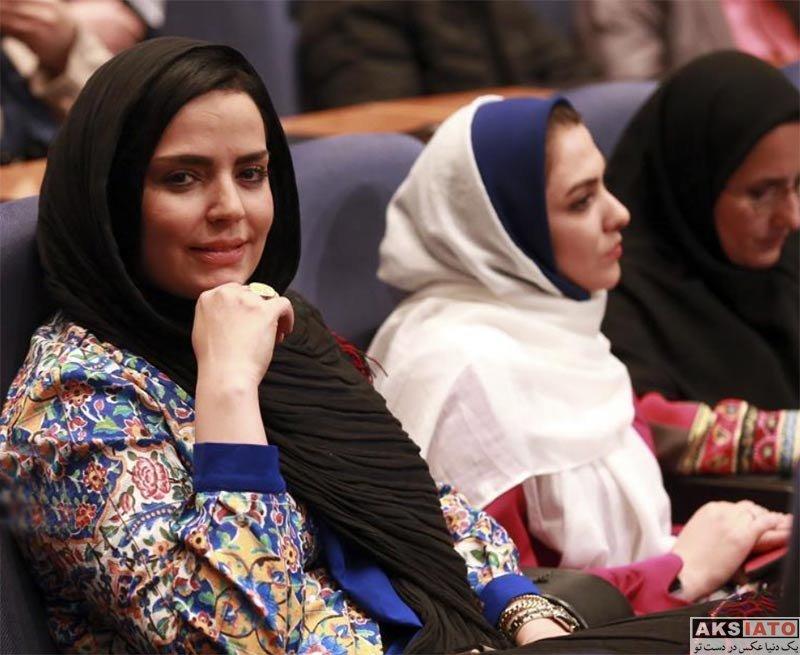 بازیگران بازیگران زن ایرانی  سپیده خداوردی در اختتامیه جشنواره مردمی برنامه های نوروزی ۹۷ (۲ عکس)