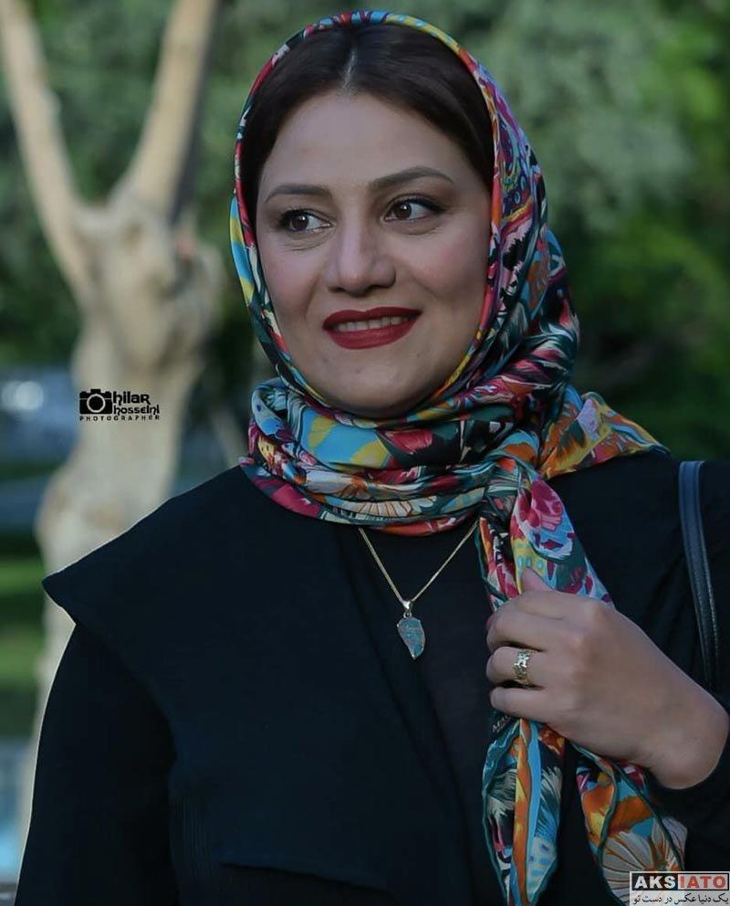 بازیگران جشنواره جهانی فیلم فجر  شبنم مقدمی در اختتامیه ۳۶مین جشنواره جهانی فیلم فجر (5 عکس)