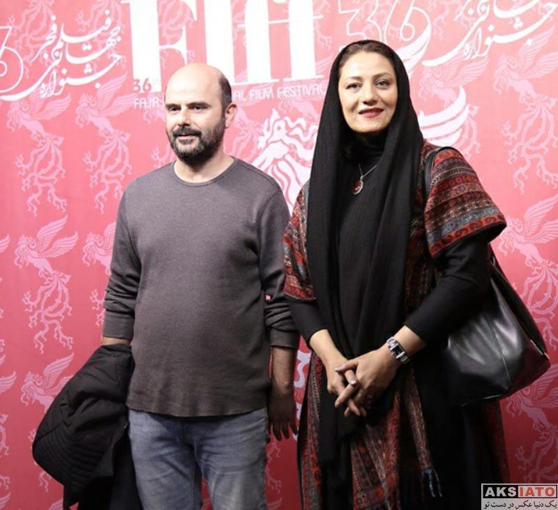 بازیگران بازیگران زن ایرانی  شبنم مقدمی در سی و ششمین جشنواره جهانی فیلم فجر (5 عکس)