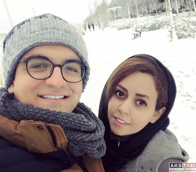 خانوادگی خوانندگان  دو عکس جدید از سینا شعبانخانی بهمراه همسرش