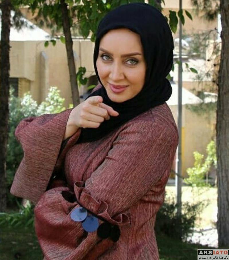 بازیگران بازیگران زن ایرانی  سولماز حصاری در برنامه خوشا شیراز (۳ عکس)