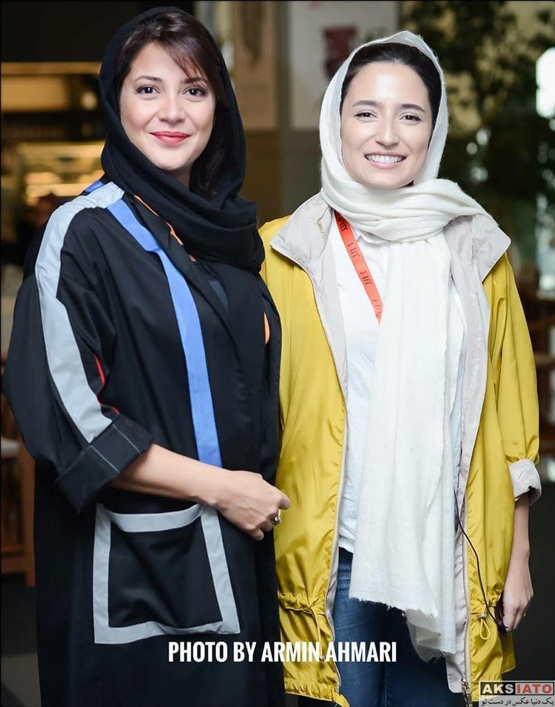 جشنواره جهانی فیلم فجر  طناز طباطبایی در سی و ششمین جشنواره جهانی فیلم فجر (5 عکس)