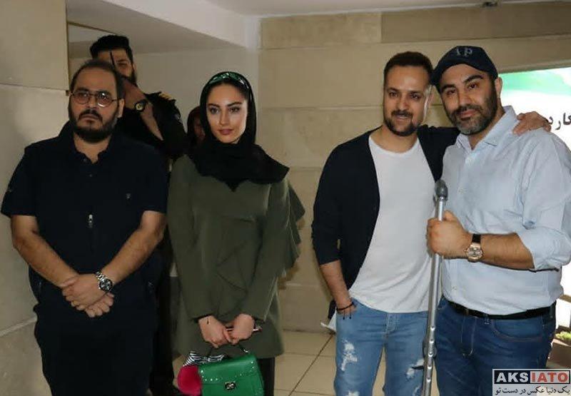 بازیگران بازیگران زن ایرانی  ترلان پروانه در اکران مردمی فیلم فراری (7 عکس)