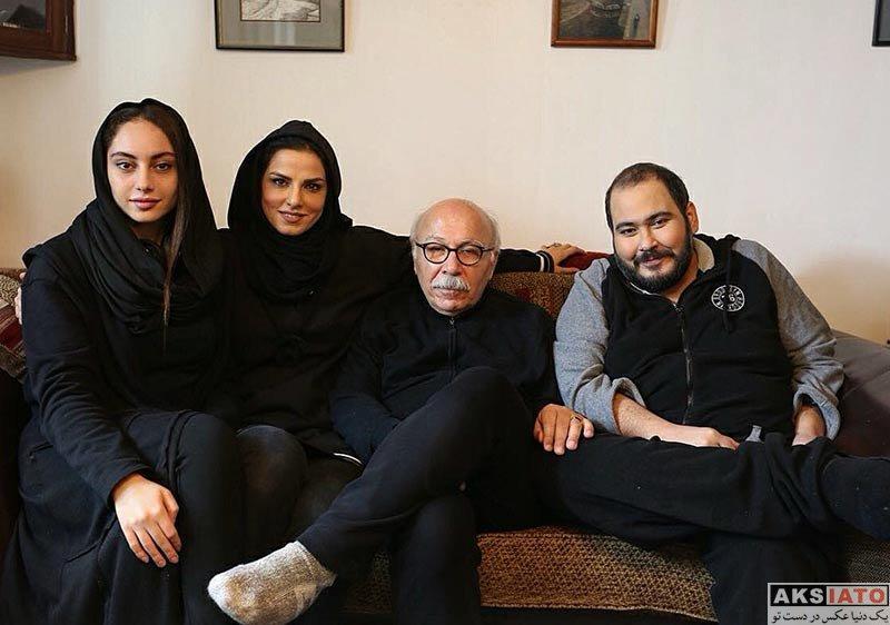 بازیگران بازیگران زن ایرانی  ترلان پروانه در پشت صحنه فیلم مصائب شیرین در انگلیس (3 عکس)