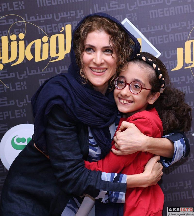 بازیگران بازیگران زن ایرانی  ویشکا آسایش و همسر و فرزندش در اکران فیلم لونه زنبور (6 عکس)