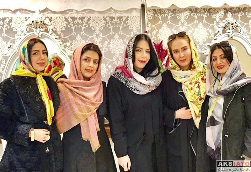 بازیگران بازیگران زن ایرانی  زهره فکور صبور در مرکز زیبایی میراکل (2 عکس)