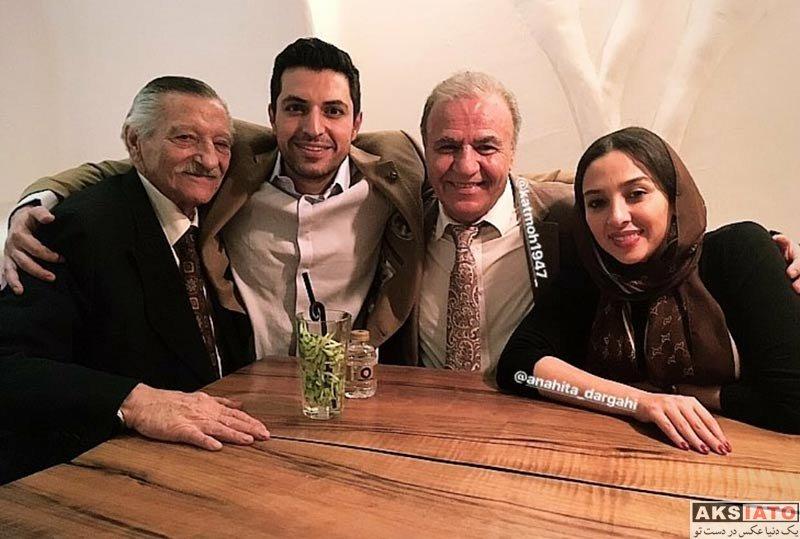 بازیگران مرد ایرانی خانوادگی  عکس های جدید اشکان خطیبی و همسرش در اردیبهشت 97