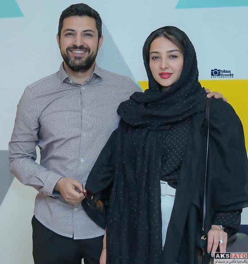 بازیگران بازیگران زن ایرانی  آناهیتا درگاهی و همسرش در کمپین پیشگیری از سرطان (۴ عکس)