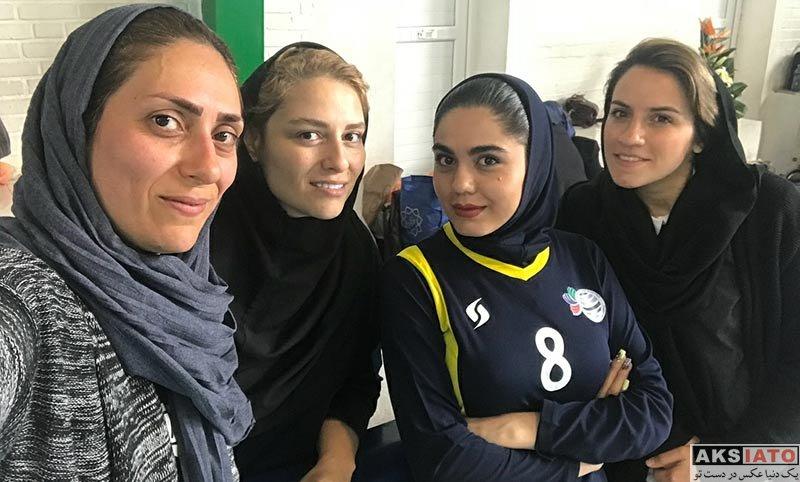 بازیگران بازیگران زن ایرانی  عکس های آزاده زارعی در اردیبهش ماه 97 (7 تصویر)
