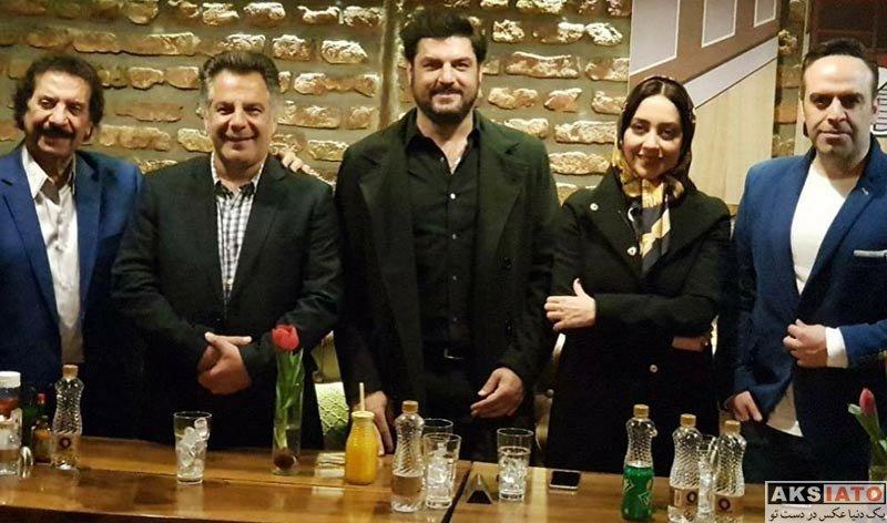 بازیگران بازیگران زن ایرانی  بهاره کیان افشار و جواد یساری در کافه کامن (2 عکس)