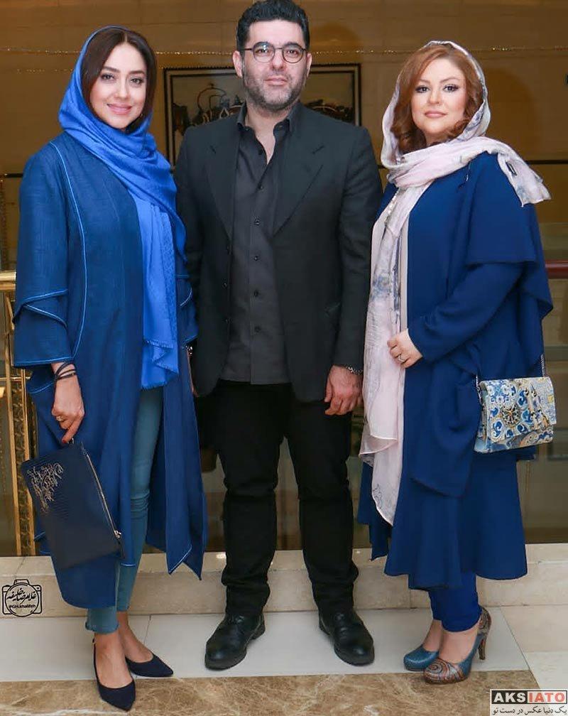 بازیگران بازیگران زن ایرانی  بهاره کیان افشار در مهمانی خصوصی فیلم چهارراه استانبول (4 عکس)