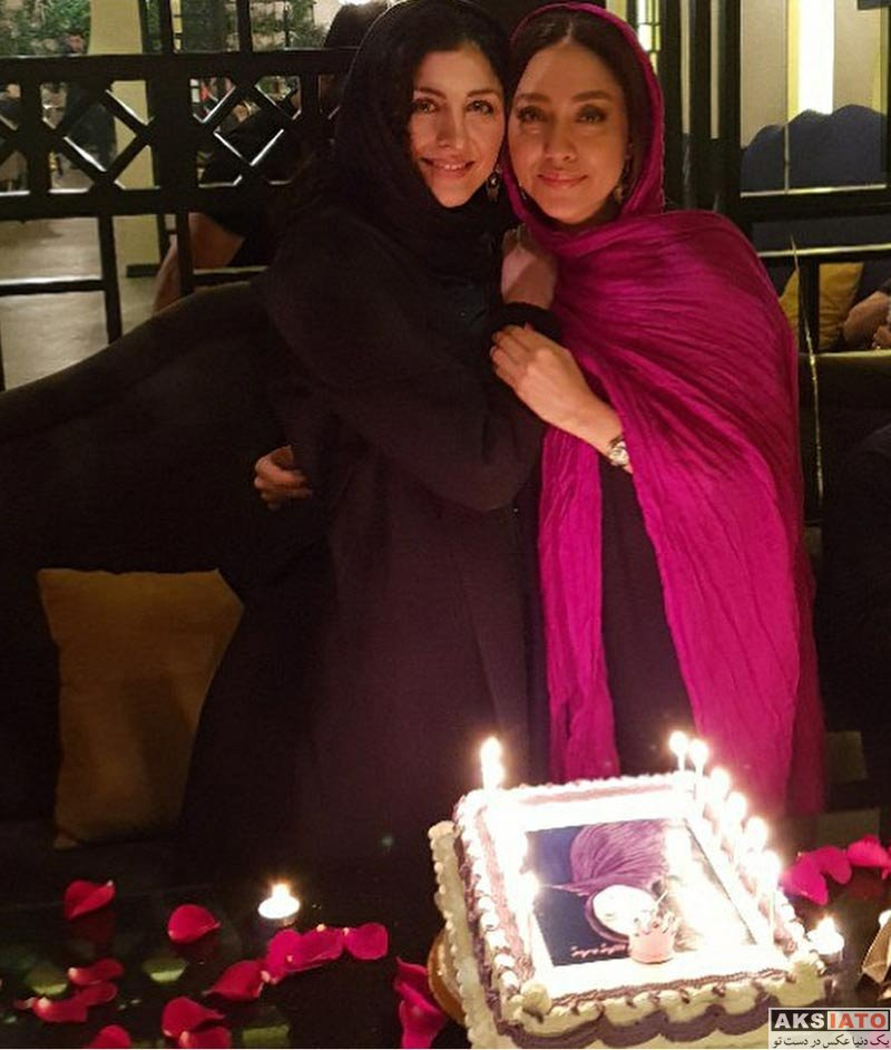 بازیگران بازیگران زن ایرانی  جشن تولد بهاره کیان افشار در کنار دوستانش (4 عکس)
