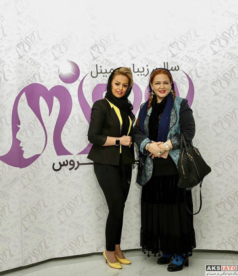 بازیگران بازیگران زن ایرانی  بهاره رهنما در ایونت سالن زیبایی مینل (3 عکس)