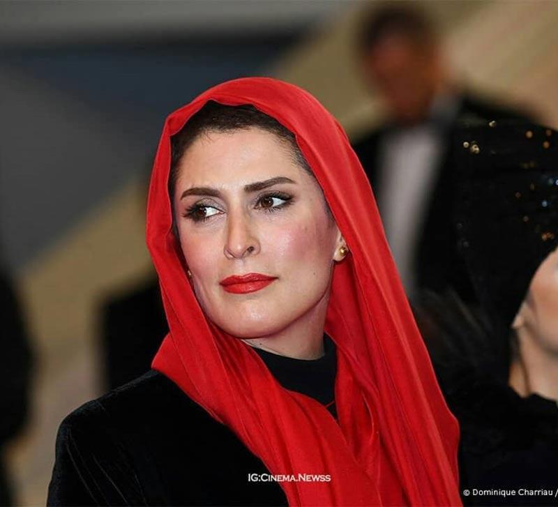 بازیگران بازیگران زن ایرانی  بهناز جعفری در جشنواره فیلم کن 2018 (5 عکس)