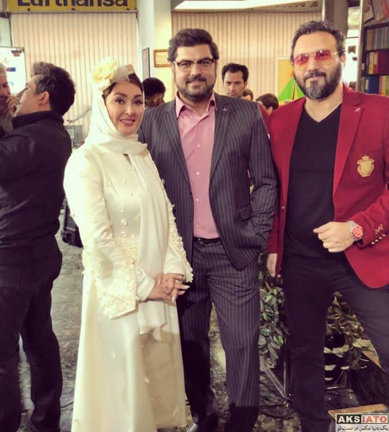 بازیگران بازیگران زن ایرانی  الهام حمیدی با گریم عروسی در فیلم تخته گاز (3 عکس)