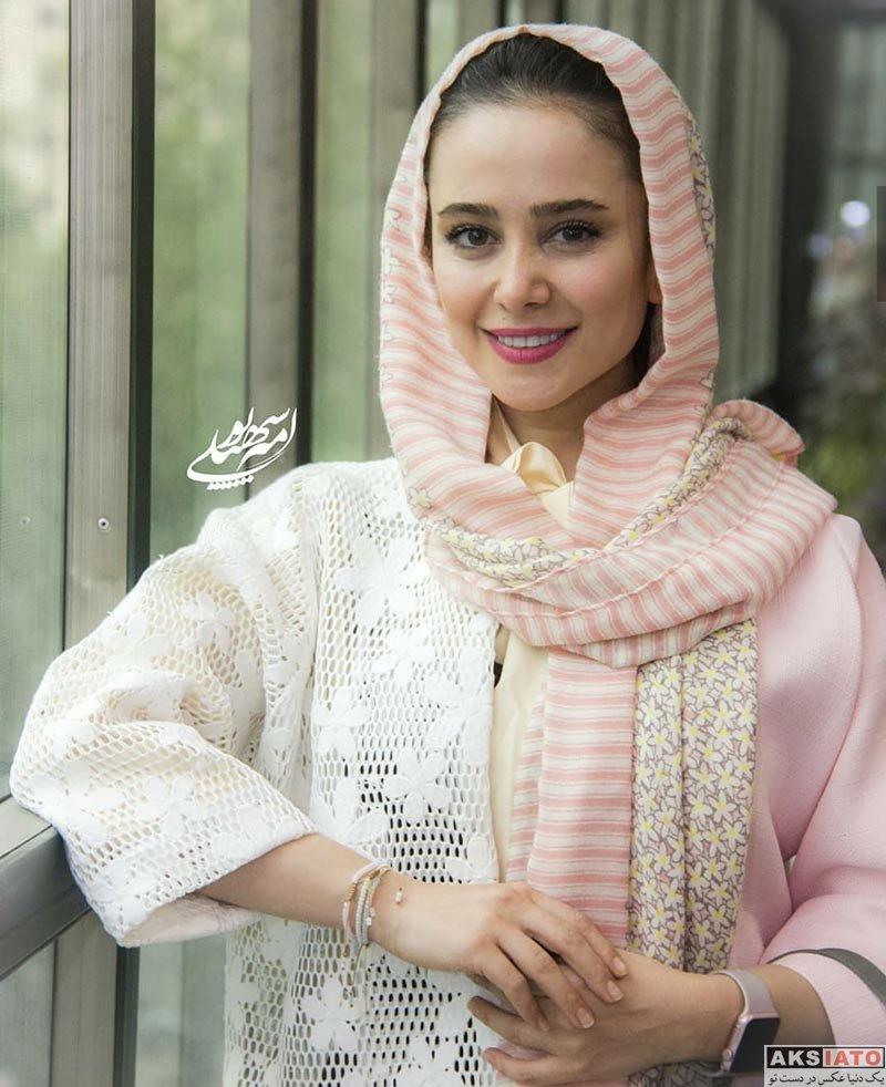 بازیگران بازیگران زن ایرانی  الناز حبیبی در اولین اکران مردمی فیلم خجالت نکش (6 عکس)