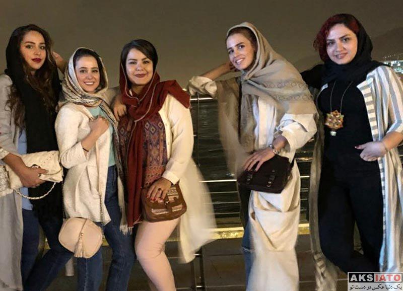 بازیگران بازیگران زن ایرانی  گردش و دورهمی الناز حبیبی و دوستانش در تهران (2 عکس)