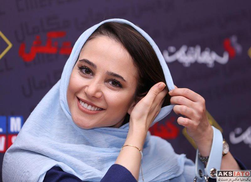 بازیگران بازیگران زن ایرانی  عکس های الناز حبیبی در اکران فیلم «خجالت نکش»