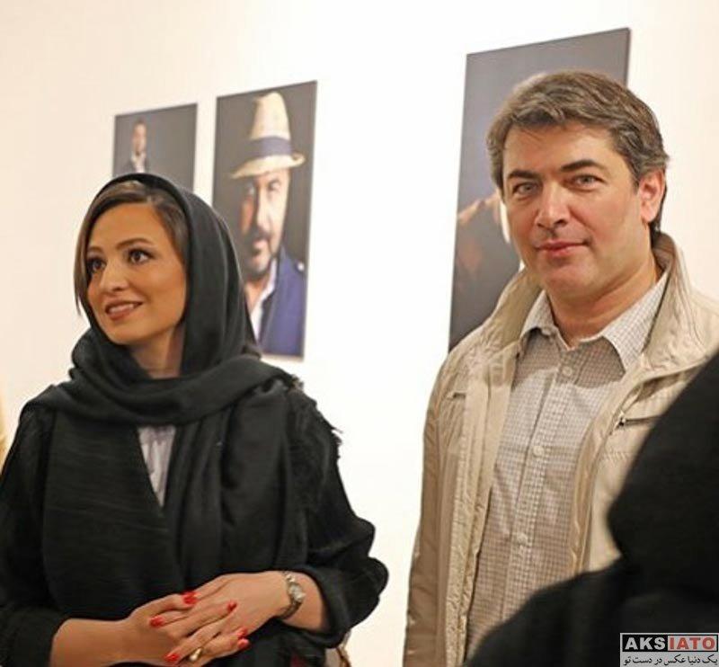 بازیگران بازیگران زن ایرانی  گلاره عباسی در نمایشگاه عکس چهرههای نمایش ایران (3 عکس)
