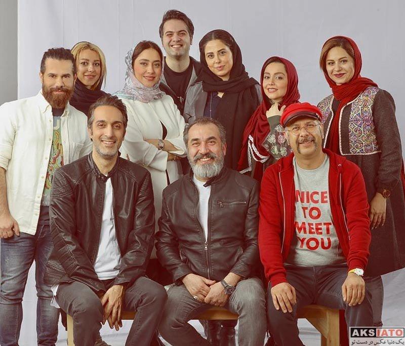 بازیگران بازیگران زن ایرانی عکس آتلیه و استودیو  عکس های آتلیه بهاره کیان افشار و بازیگران سریال گلشیفته (5 تصویر)