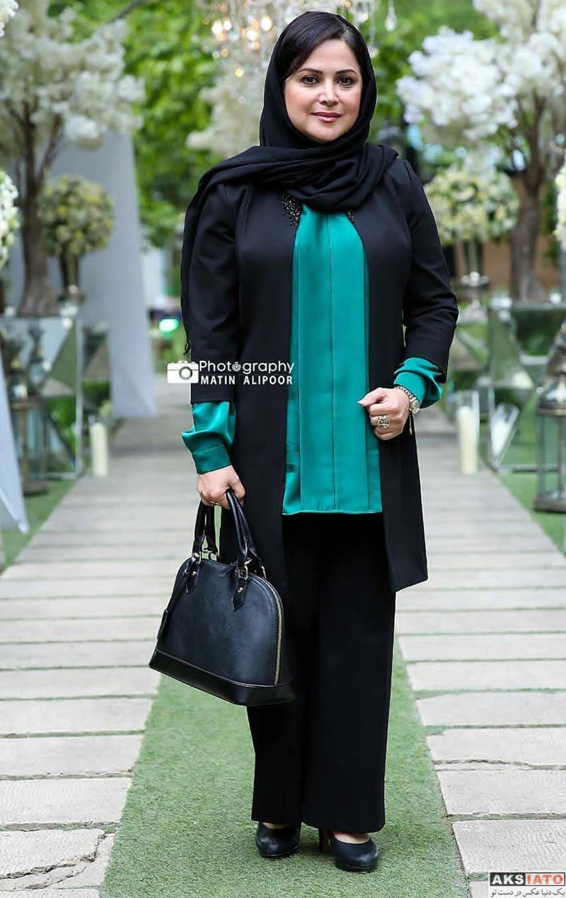 بازیگران بازیگران زن ایرانی  کمند امیرسلیمانی در مراسم رونمایی از عطر بهاره رهنما (4 عکس)