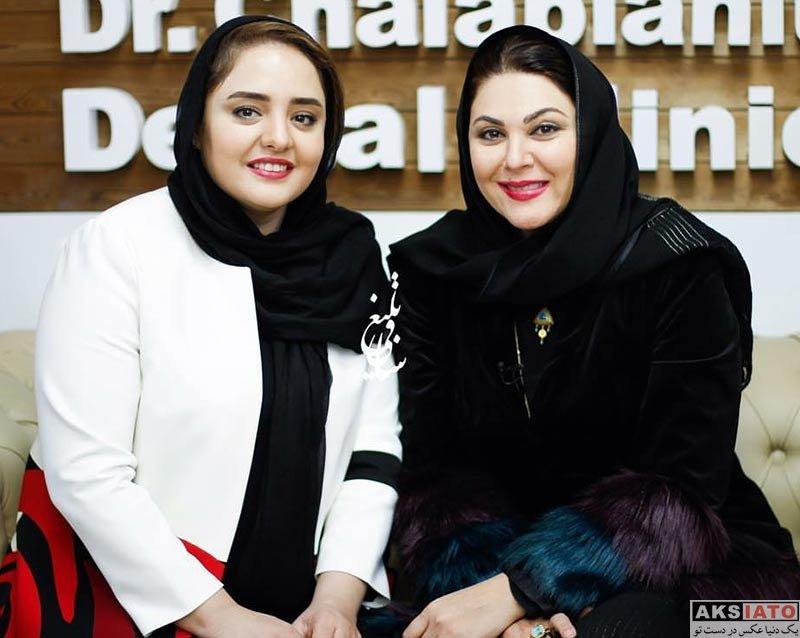 بازیگران بازیگران زن ایرانی  لاله اسکندری در افتتاحیه کلینیک دندانپزشکی دکتر چلبیانلو (4 عکس)