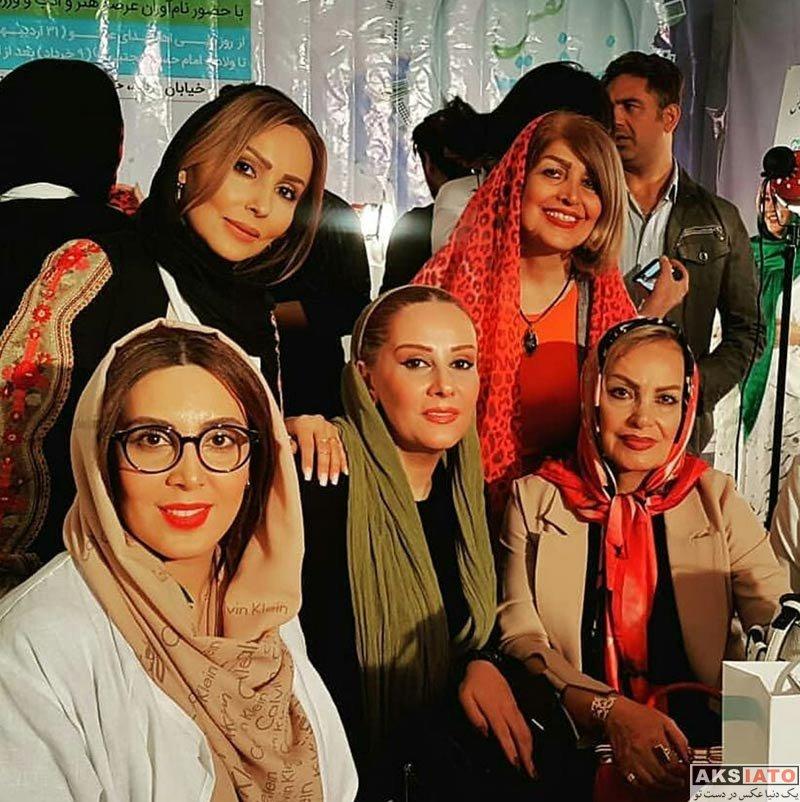 بازیگران بازیگران زن ایرانی  لیلا بلوکات در پانزدهمین جشن نفس (5 عکس)