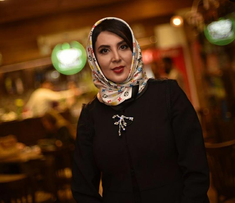 بازیگران بازیگران زن ایرانی  لیلا بلوکات در دورهمی هنرمندان در گالری کافه (5 عکس)
