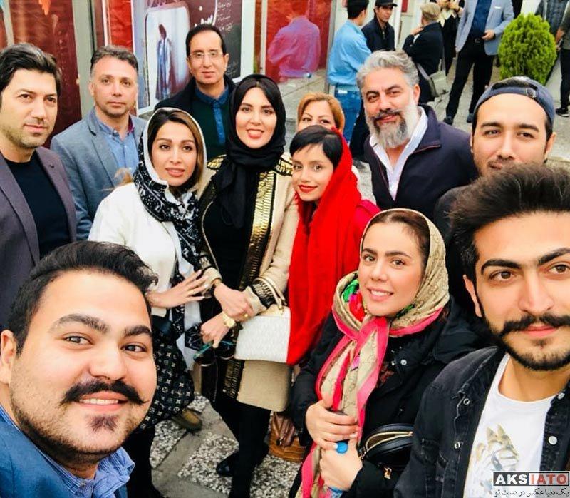 بازیگران بازیگران زن ایرانی  لیلا بلوکات در اجرای نمایش مرثیه ای برای یک دختر (3 عکس)