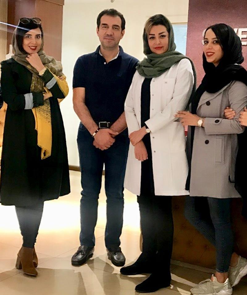 بازیگران بازیگران زن ایرانی  لیلا بلوکات در کلینیک زیبایی شن های نقراه ای (2 عکس)