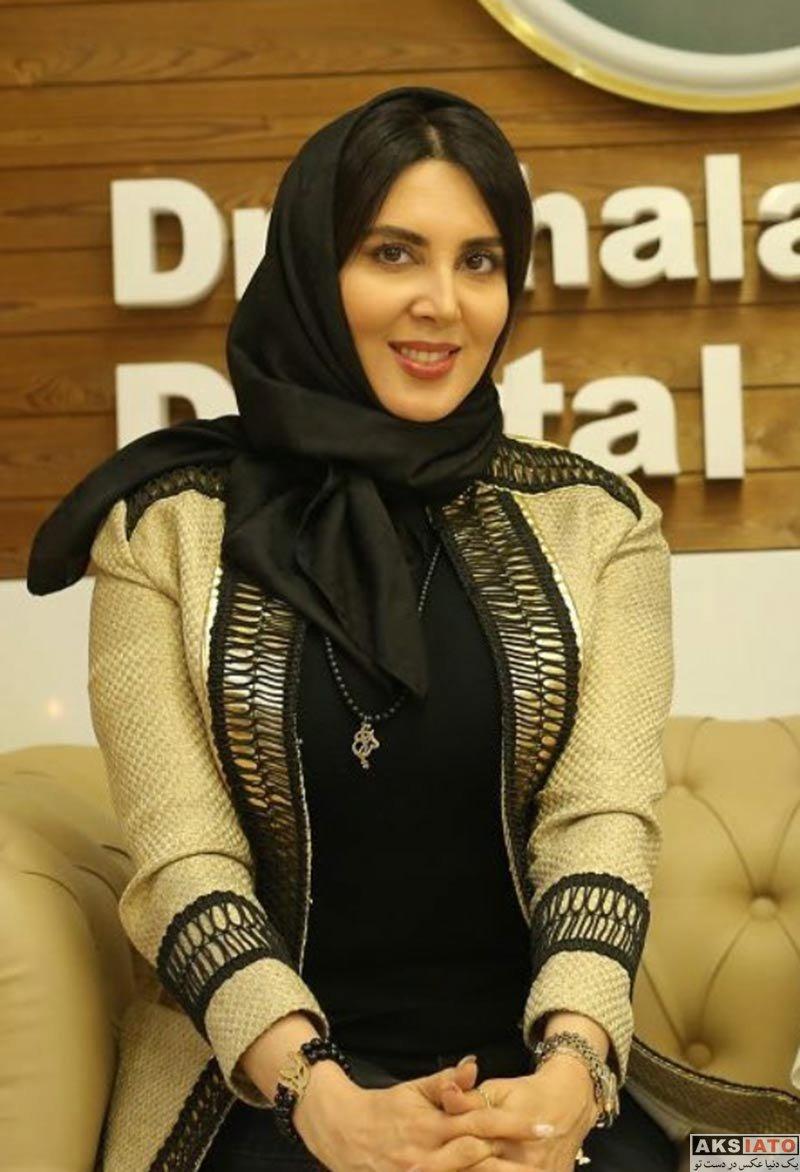 بازیگران بازیگران زن ایرانی  لیلا بلوکات در افتتاحیه کلینیک دندانپزشکی دکتر چلبیانلو (2 عکس)