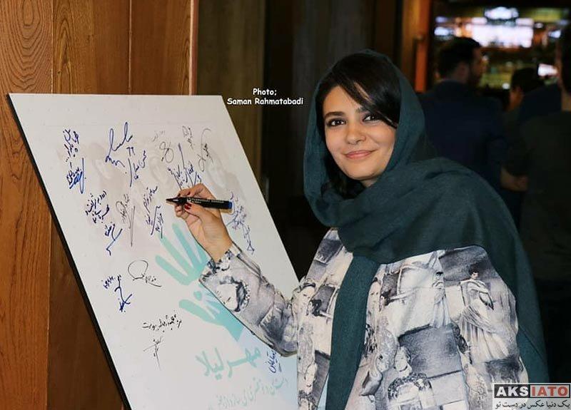 بازیگران بازیگران زن ایرانی  لیندا کیانی در هفتمین ضیافت خیریه مهر لیلا (6 عکس)