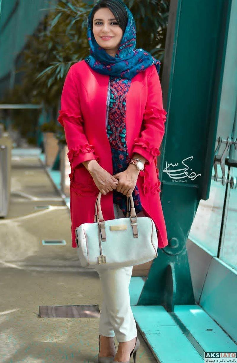 بازیگران بازیگران زن ایرانی  لیندا کیانی در کمپین پیشگیری از سرطان (5 عکس)