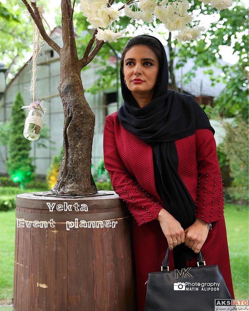 بازیگران بازیگران زن ایرانی  لیندا کیانی در مراسم رونمایی از عطر بهاره رهنما (5 عکس)