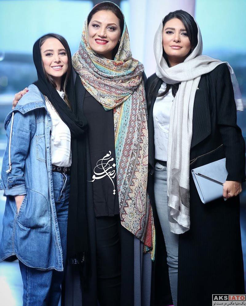 بازیگران بازیگران زن ایرانی  لیندا کیانی در اکران خصوصی فیلم خجالت نکش (5 عکس)