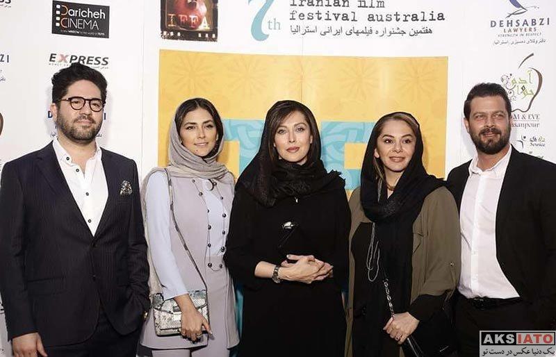 بازیگران بازیگران زن ایرانی  مهتاب کرامتی در هفتمین جشنواره فیلمهای ایرانی استرالیا (3 عکس)