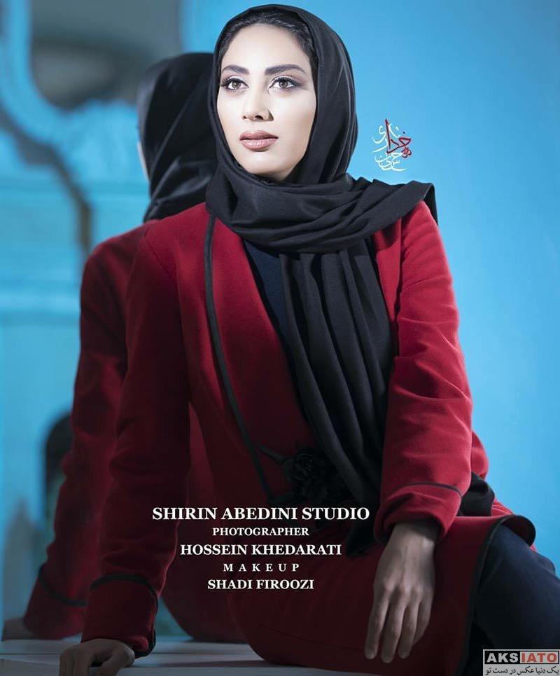 بازیگران بازیگران زن ایرانی  عکس های آتلیه مارال فرجاد بازیگر نقش شهره در سریال رهایم نکن