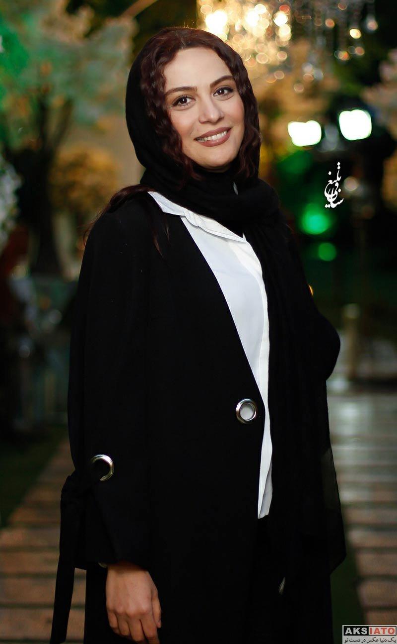 بازیگران بازیگران زن ایرانی  مارال فرجاد در مراسم رونمایی از عطر بهاره رهنما (3 عکس)