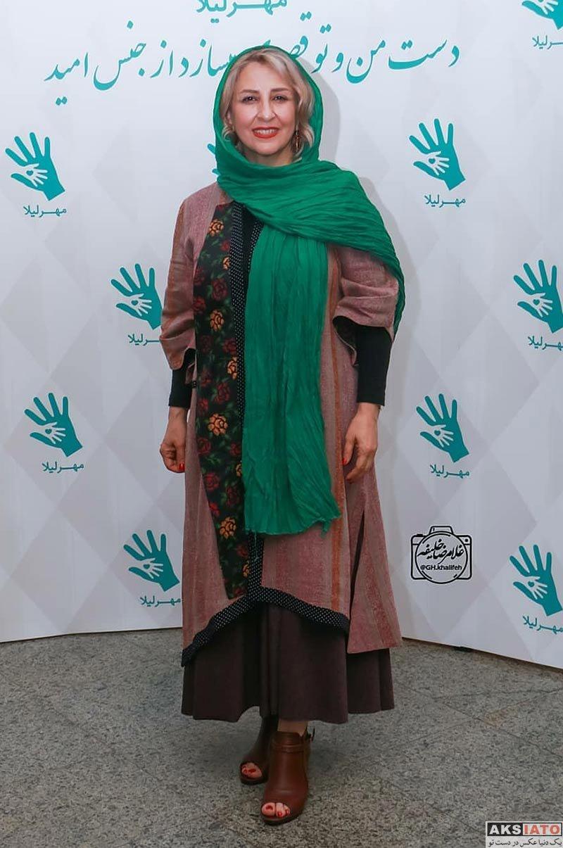 بازیگران بازیگران زن ایرانی  مرجانه گلچین در هفتمین ضیافت خیریه مهر لیلا (4 عکس)