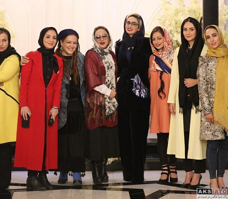 بازیگران بازیگران زن ایرانی  مریم خدارحمی در ایونت سالن زیبایی مینل (۳ عکس)