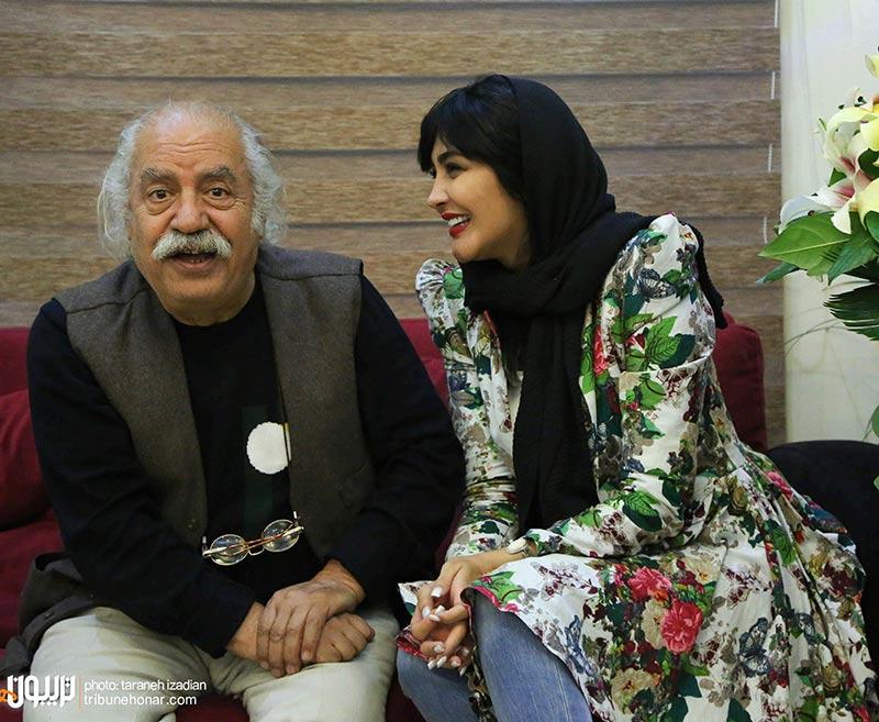 بازیگران بازیگران زن ایرانی  مریم معصومی در جشن تولد شهره سلطانی (4 عکس)