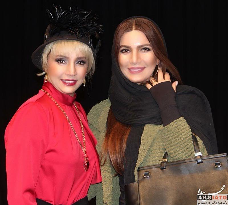بازیگران بازیگران زن ایرانی  متین ستوده در اجرای نمایش دپوتات (2 عکس)
