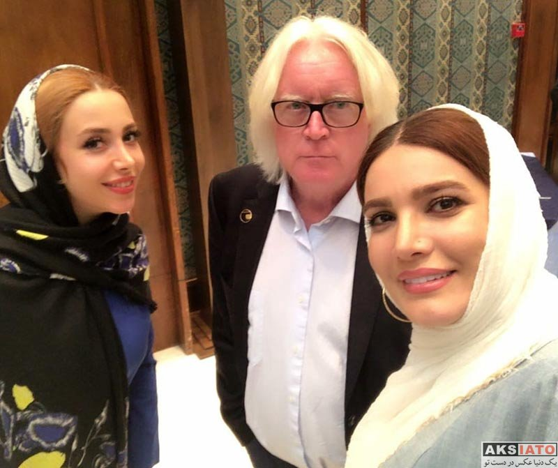 بازیگران بازیگران زن ایرانی  متین ستوده در جشن قهرمانی تیم استقلال (2 عکس)