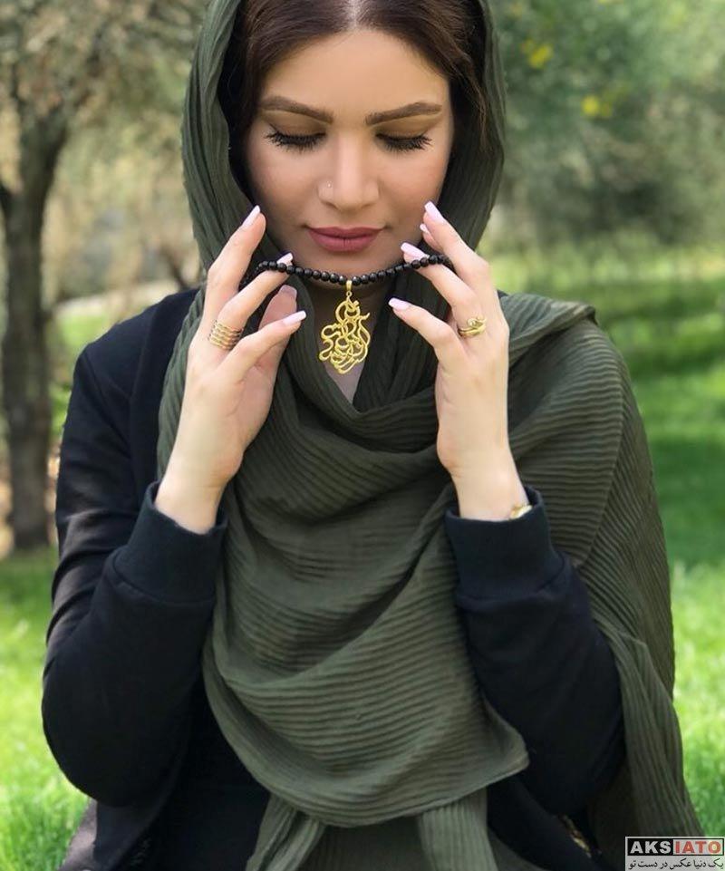 بازیگران بازیگران زن ایرانی  عکس های متین ستوده بازیگر نقش راضیه در سریال سر دلبران در اردیبهشت 97