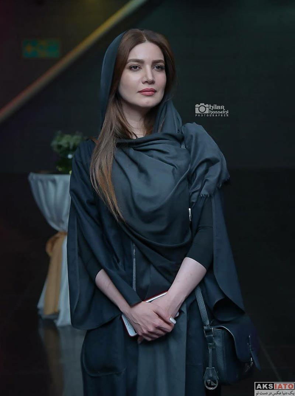 بازیگران بازیگران زن ایرانی  متین ستوده در اکران خصوصی فیلم خجالت نکش (4 عکس)