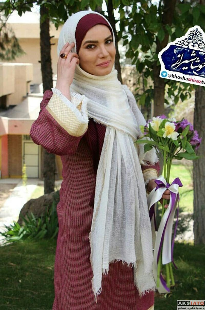 بازیگران بازیگران زن ایرانی  متین ستوده در برنامه خوشا شیراز (۴ عکس)